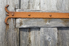 Détail de porte de ferronnerie Images libres de droits