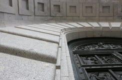 Détail de porte de Madrid Escorial Photo libre de droits