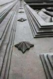 Détail de porte de Madrid Escorial Photographie stock libre de droits