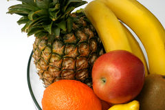 Détail de préparation de fruit Image stock