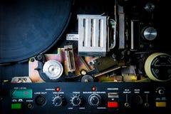 Détail de projecteur de 8mm Photos stock