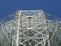 Détail de radiotélescope Image libre de droits