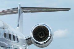 Détail de Rewar d'avion à réaction d'affaires Image libre de droits