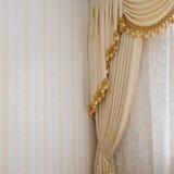Détail de rideau Photographie stock libre de droits