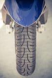 Détail de roue de moto Images stock