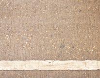 Détail de route avec les lignes blanches. Photo libre de droits