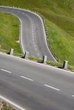 Détail de route de montagne photo stock
