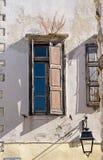 Détail de rue de vieille ville de Rethymno, île de Crète, Grèce Image libre de droits