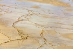 Détail de sable image stock