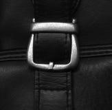 Détail de sac en cuir Photos libres de droits