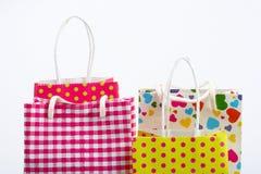 Détail de sacs à provisions image stock