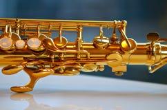 Détail de saxophone Photos libres de droits