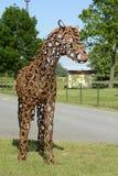 Détail de sculpture d'un cheval, Prague, République Tchèque, l'Europe Photographie stock