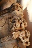 Détail de sculpture en faune Photographie stock