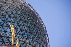 Détail de sphère de dessus de toit Photographie stock