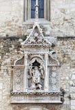 Détail de St Matthias Church à Budapest image libre de droits