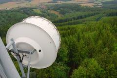 Détail de station d'émetteur Photographie stock