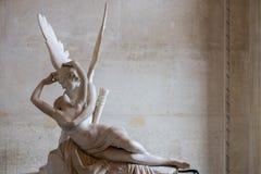 Détail de statue d'amour et de psyché Photos libres de droits