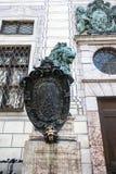 Détail de statue dans le ressortissant Museu de nzsammlung de ¼ de Staatliche MÃ images stock