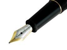 Détail de stylo-plume Photographie stock libre de droits