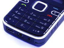 Détail de téléphone portable Photos libres de droits