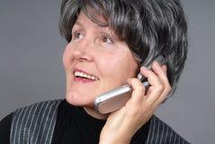 Détail de téléphone portable Images libres de droits