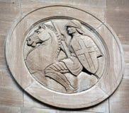 Détail de temple commémoratif maçonnique de Montréal photo stock