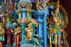 Détail de temple hindou sri-lankais Photos libres de droits