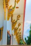 Détail de temple thaïlandais Images libres de droits