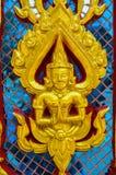 Détail de temple thaïlandais Photos stock