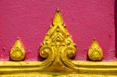 Détail de temple thaïlandais Photographie stock libre de droits