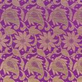Détail de texture de Sari images stock