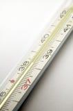 Détail de thermomètre clinique Images stock