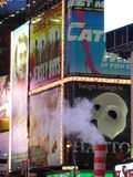 Détail de Times Square Photos libres de droits