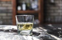 Détail de tir de tequila photo stock