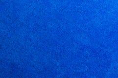 Détail de tissu bleu Image stock