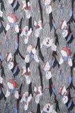 Détail de tissu de cru. Image libre de droits