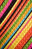 Détail de tissu de cru. photographie stock