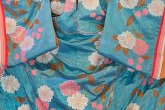 Détail de tissu de kimono Photo libre de droits