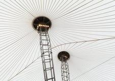 Détail de toit, Dalma Mall Shopping Centre, Abu Dhabi, Emirats Arabes Unis Image libre de droits
