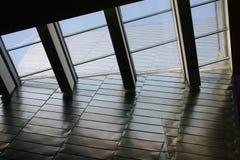 Détail de toit en métal   Photo stock