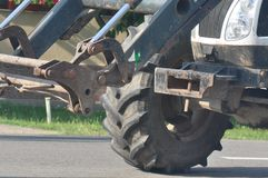 Détail de toit de tracteur image libre de droits