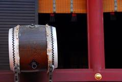 Détail de tombeau avec le tambour Photos libres de droits