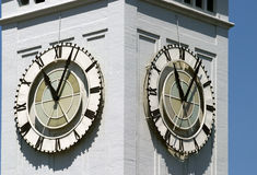 Détail de tour d'horloge images stock