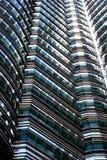 Détail de Tours jumelles de Petronas Photos libres de droits