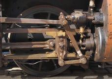 Détail de train de vapeur Photo libre de droits