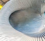 Détail de tunnel en métal image libre de droits