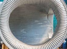 Détail de tunnel en métal images stock