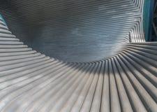 Détail de tunnel en métal photo libre de droits