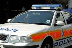 Détail de véhicule de police Photo stock